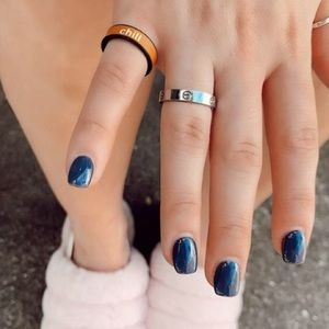 New! Reversible Silicone Ring from FlipRings -O/S
